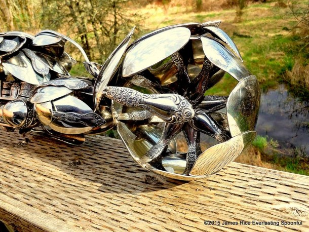 Bent Spoons And Art Join Together To Bring You These Motorcycle Sculptures 10