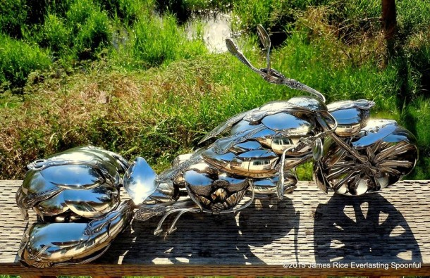 Bent Spoons And Art Join Together To Bring You These Motorcycle Sculptures 2