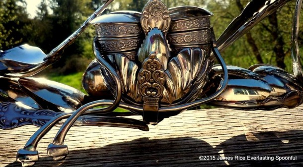 Bent Spoons And Art Join Together To Bring You These Motorcycle Sculptures 5