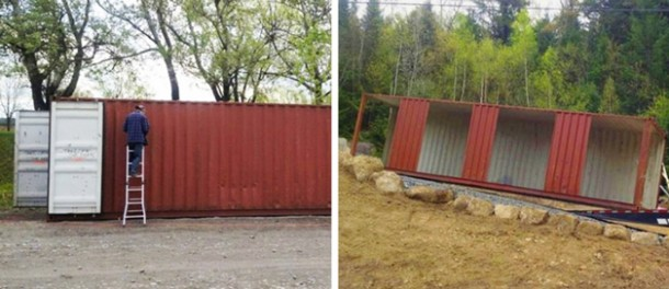 Canadian Woman Built A Dream House Using Shipping Containers 2