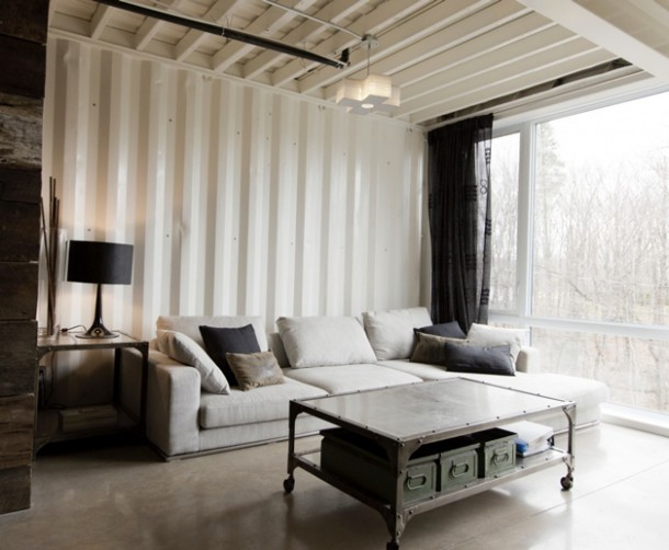 Canadian Woman Built A Dream House Using Shipping Containers 5