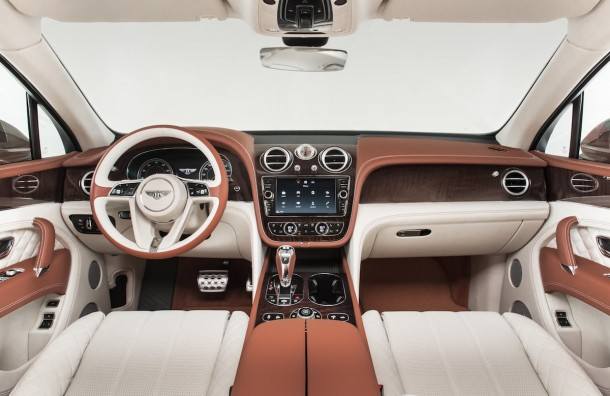 Check Out The Amazing Innovations That Bentley's New SUV Sports 7