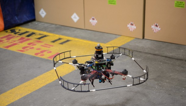 DARPA's Latest Drone Can Fly Autonomously At 4