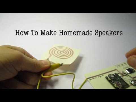 DIY Paper Speakers That Can Be Built Using Copper Wires 3