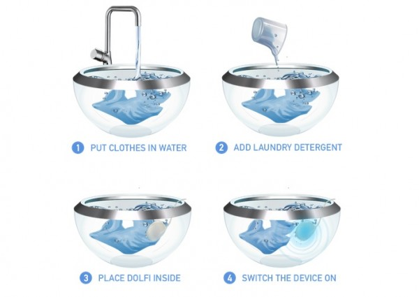Dolfi Is A Washing Machine You Can Carry Around In Your Pocket 3