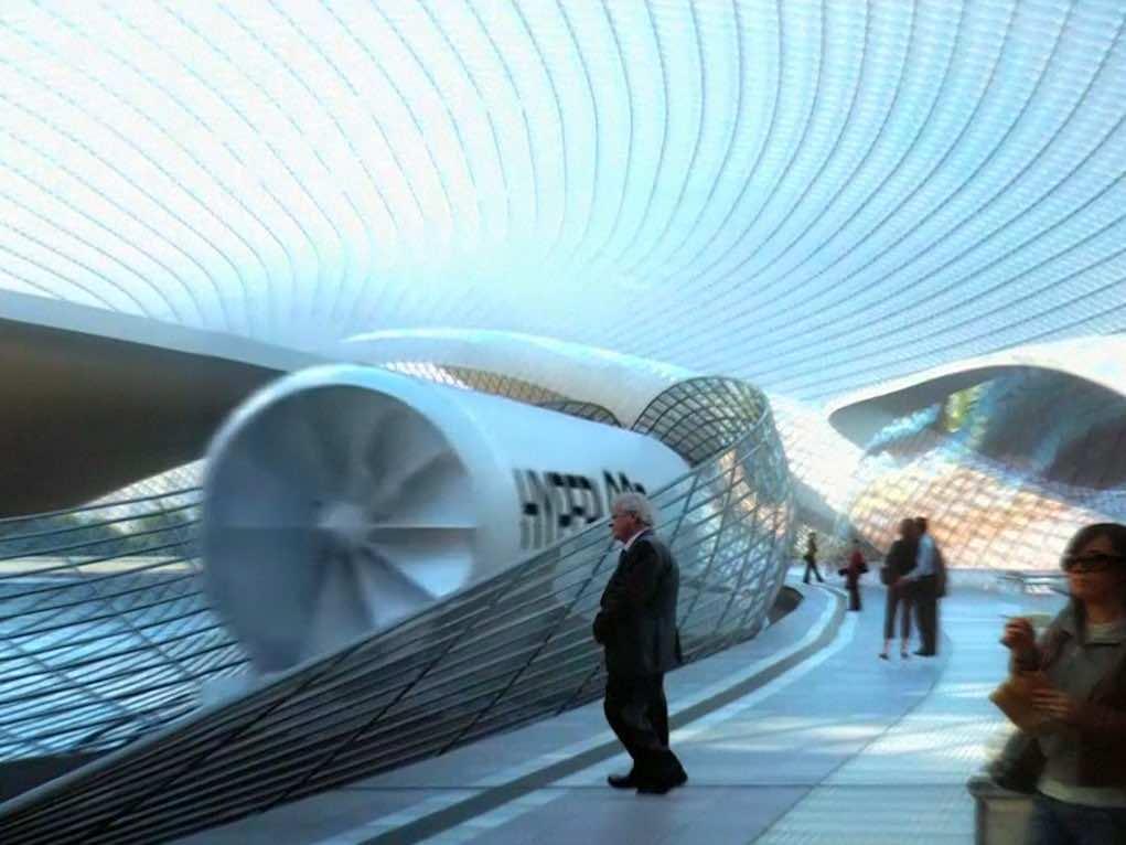 Elon Musk Envisions A Hyperloop On Mars As Well