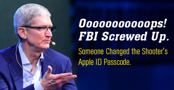 FBI Has Confirmed That It Is Responsible For Resetting The iPhone Password 5