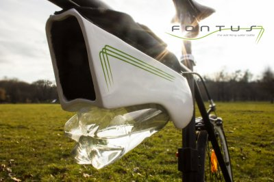 Fontus Is A Self-Filling Water Bottle That Turns Air Into Potable Water 2