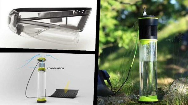 Fontus Is A Self-Filling Water Bottle That Turns Air Into Potable Water 4