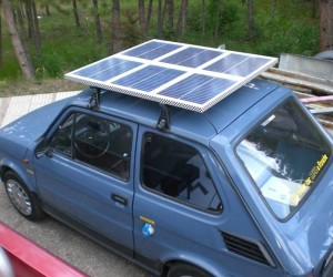 He Converted An Old Fiat Into An Electric Vehicle  (55)