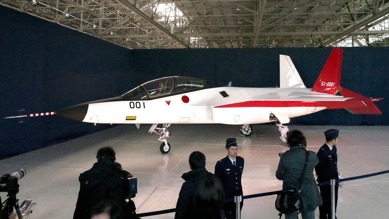 Japan Has Created Its Own Stealth Fighter, X-2