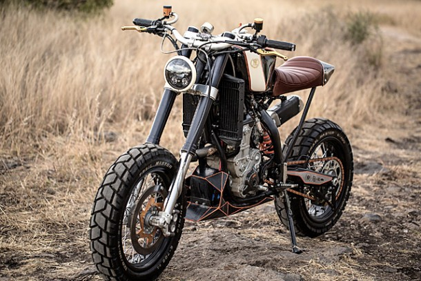 KTM 450 by Vitium Moto Is An Unconventional Motorcycle 2