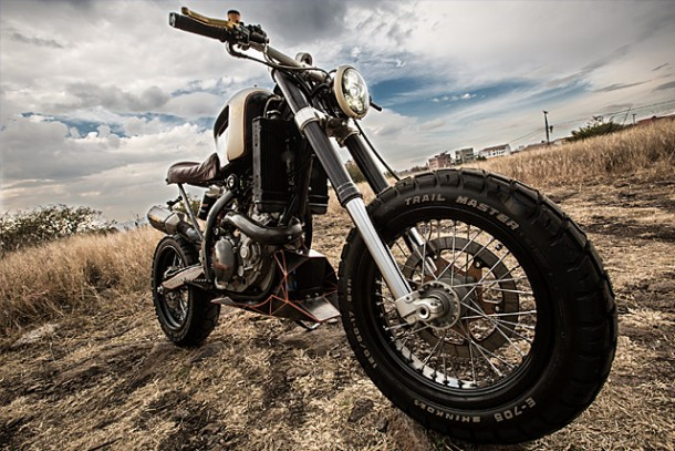 KTM 450 by Vitium Moto Is An Unconventional Motorcycle 4