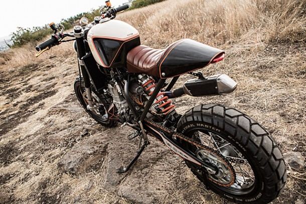 KTM 450 by Vitium Moto Is An Unconventional Motorcycle 8