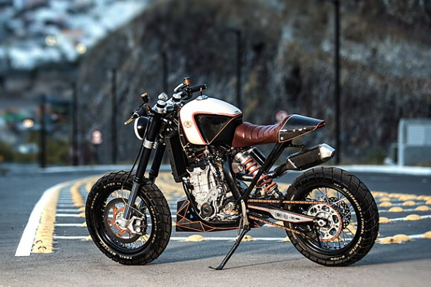 KTM 450 by Vitium Moto Is An Unconventional Motorcycle 9