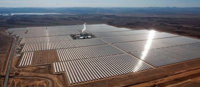 Largest Solar Farm Began Operations In Morocco 4