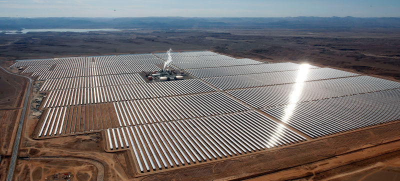 Largest Solar Farm Began Operations In Morocco 4