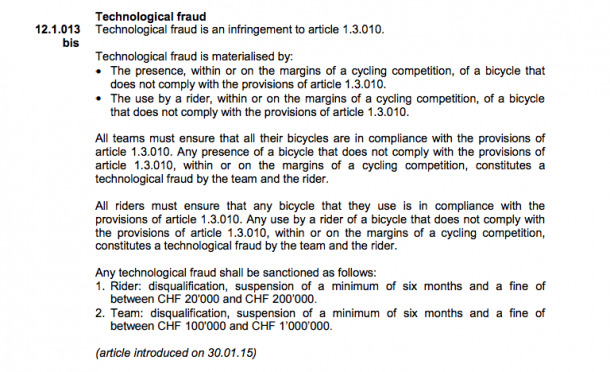 Mechanical Doping Is A Real Thing Now – Motor Found In Cyclist's Bike 2