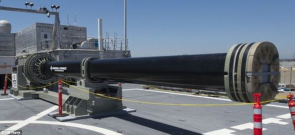 Navy's 'Star Wars' Weapon Will Be Ready By 2018 2