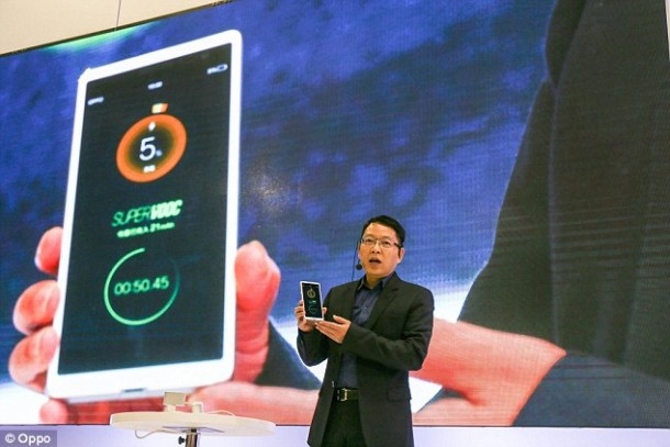 Oppo's Gadget Can Charge Within 15 Minutes Flat