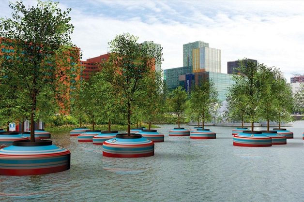 Rotterdam floating forest4