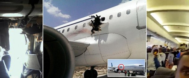 Somalian Jet Manages To Land Without Fatality Following A Mid-Air Explosion
