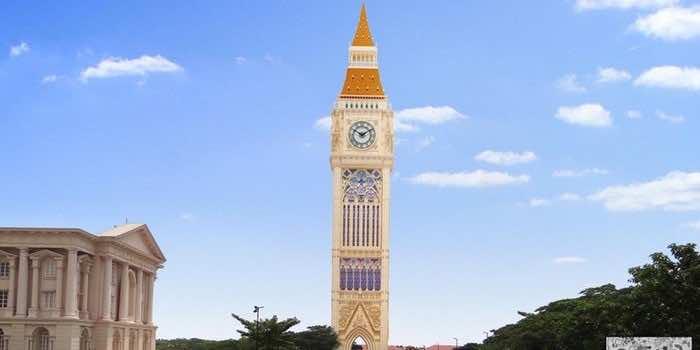 Tallest clock tower