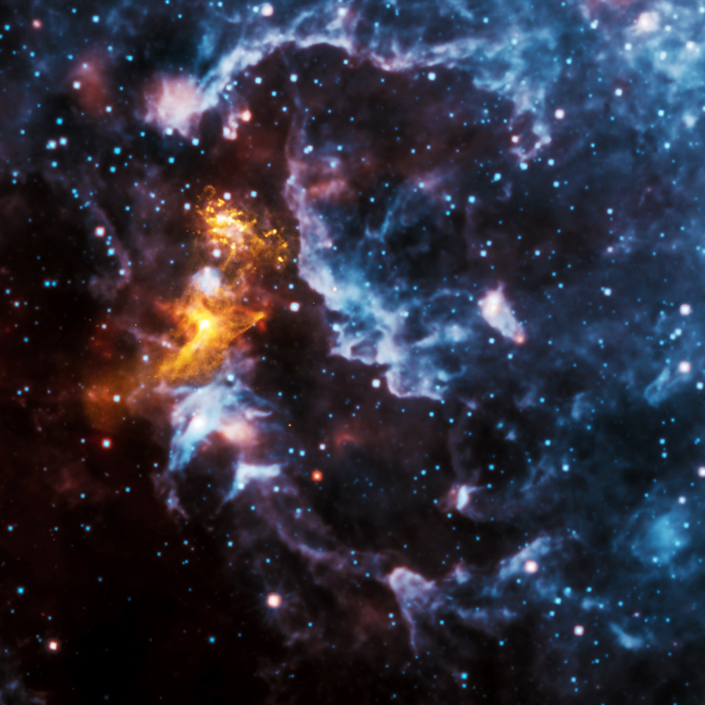 "With the passing of Chandra's 15th anniversary, the Chandra Data Archive, which houses all of the mission's data, continues to grow each successive year. These images - that include a wide range of astronomical objects -- combine X-rays from Chandra's archive with data from other telescopes. This technique of creating ""multi wavelength"" images allows scientists and the public to see how X-rays fit with data of other types of light, such as optical, radio, and infrared."