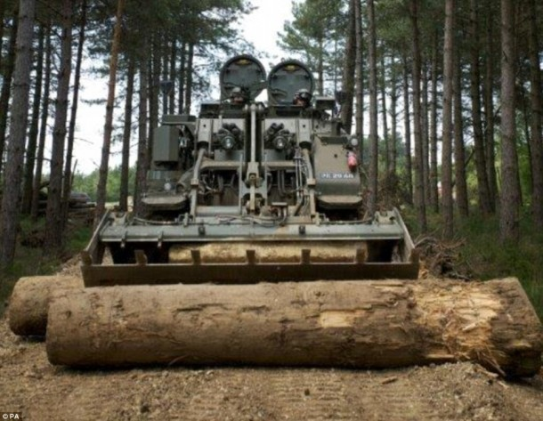 Terrier Is The Tank Of The Future And British Army Owns It 9