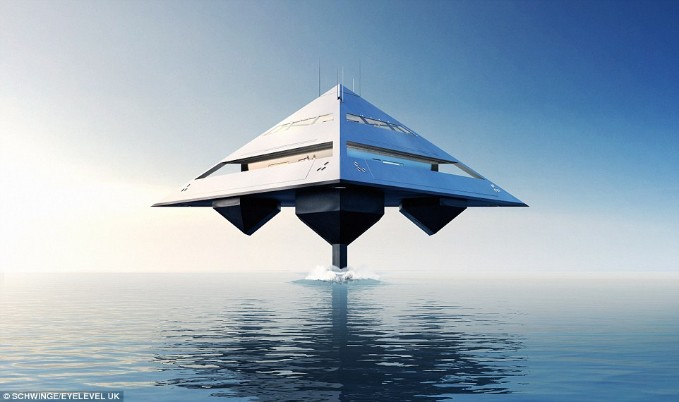 Tetrahedral Yacht design2