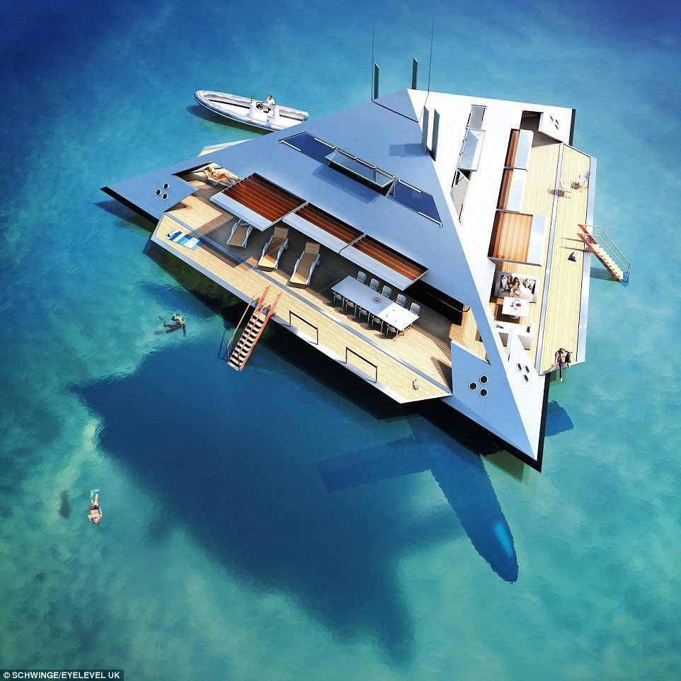 Tetrahedral Yacht design3