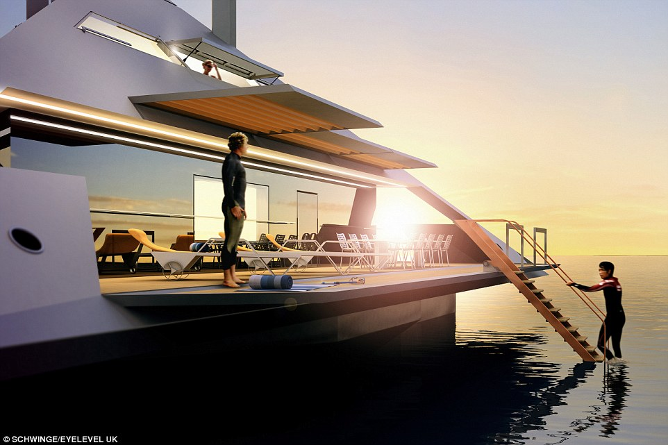 Tetrahedral Yacht design4