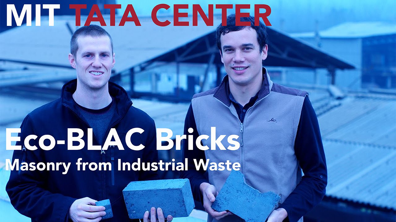 The Eco-Blac Brick Can Be Created From Industrial Waste 3