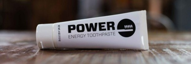The Power Toothpaste Comes Loaded With Caffeine