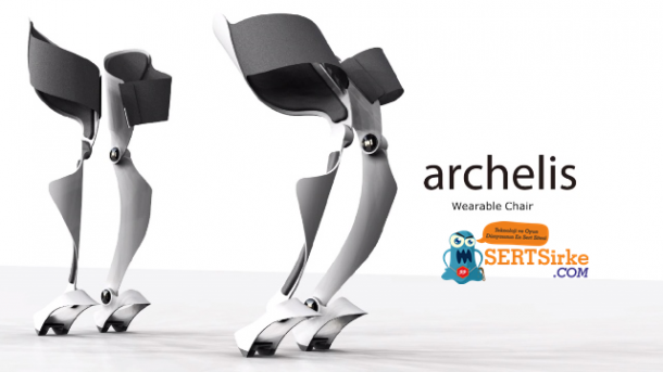 The Wearable Chair Allows You To Sit While Standing 4