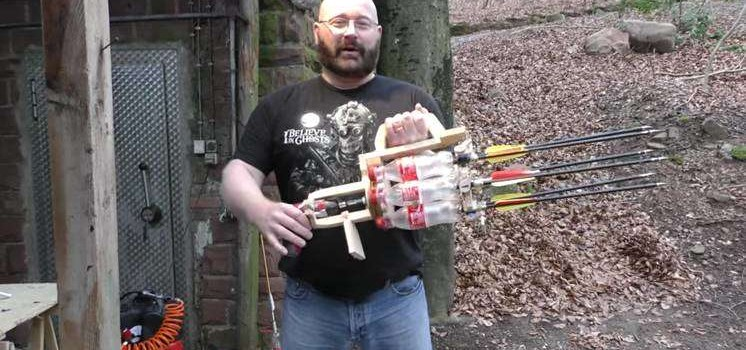 This Guy Created An Amazing DIY Automatic Gun