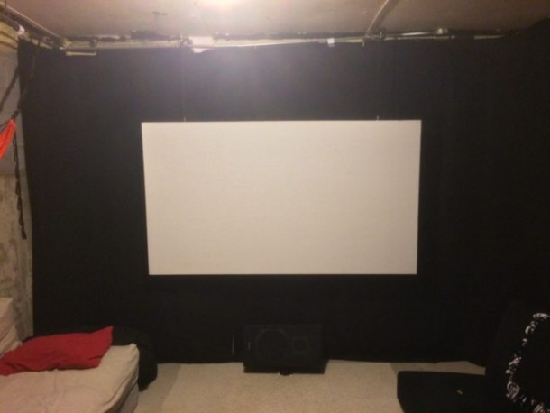 This Home Theater Was Created On A Budget 10