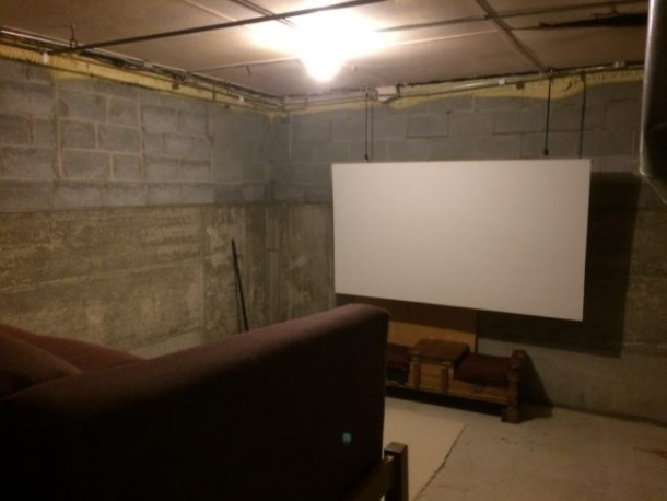 This Home Theater Was Created On A Budget 5