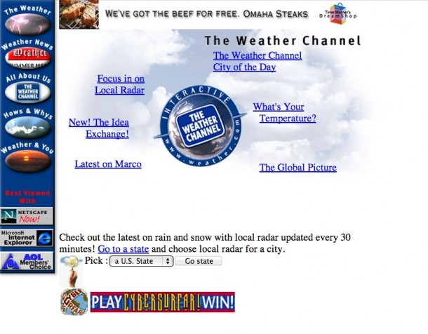 This Is What 25 Most Popular Websites Looked Like When They Became Functional 24