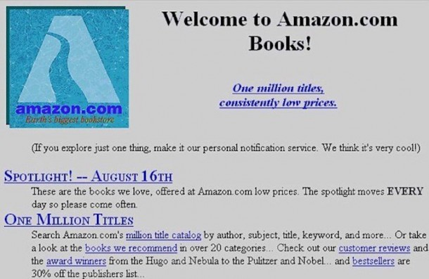 This Is What 25 Most Popular Websites Looked Like When They Became Functional 3