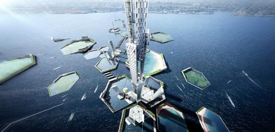 Tokyo's Sky Mile Tower Will Be Twice The Height Of Burj Khalifa 2