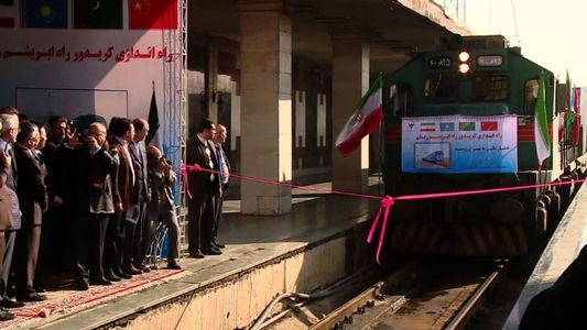 Train From China Reaches Tehran Marking The Revival Of Silk Road 3
