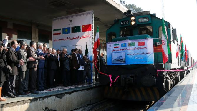 Train From China Reaches Tehran Marking The Revival Of Silk Road