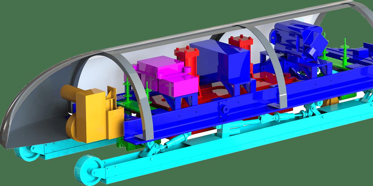 Winner Of Elon Musk's Hyperloop Pod design contest 4