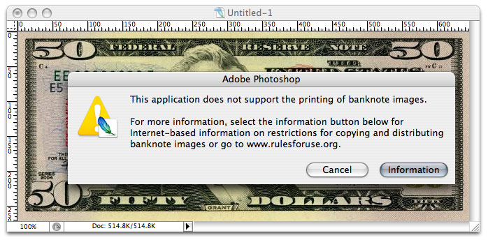 currency in photoshop