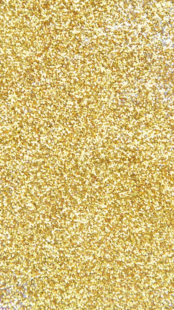 a board with golden glitters