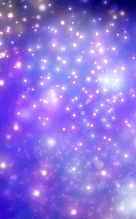 sparkling in violet