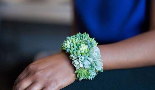 growing floral jewellery