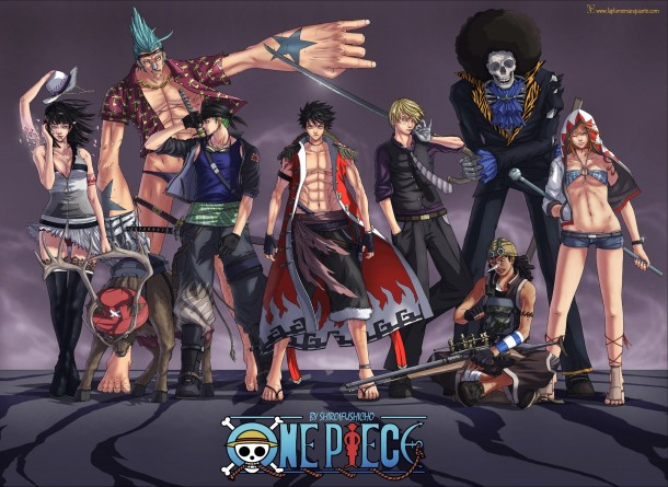Wallpaper Pemandangan Wallpaper One Piece Paling Keren