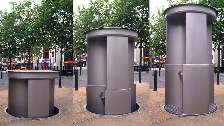 pop-up urinals